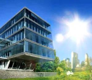 solar smart energy glass bldg