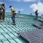 solar roof installed in Hawaii