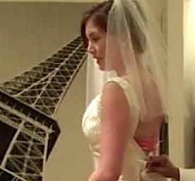 bride in DC shop via Wash Post video