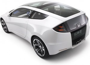 Honda CR-Z electric-gasoline hybrid