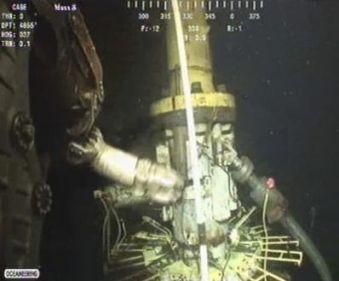 BP underwater photo today