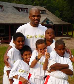 DMC with Camp Felix kids