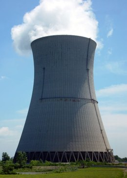 Davis-Besse Nuclear plant in Ohio, by Click via Morguefile.com