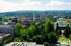 Salem, Oregon downtown, Wikipedia free licensed photo