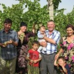 Uzbekistan family, file photo, USAID
