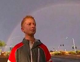 Zach Bonner just walks, from NBC video
