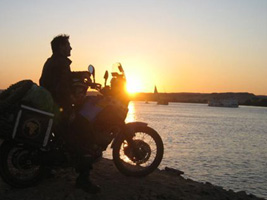 AfricaBikeAdventure.com on the Nile