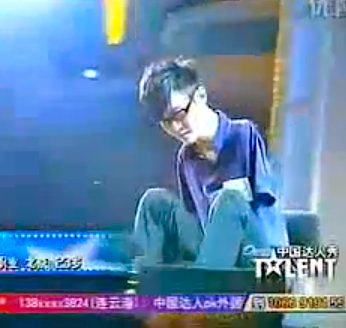 armless pianist Liu Wei on China's Got Talent