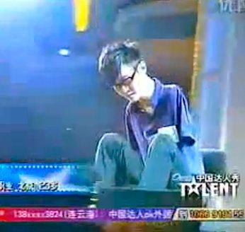 armless pianist Liu Wei on China's Got Talent