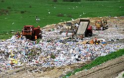 landfill in Poland by Cezary p - GNU licensed