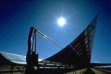 Solar trough, govt photo