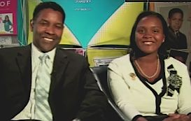 Denzel with Youth-of-the-Year, CNN video