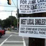haiku street sign by John Morse