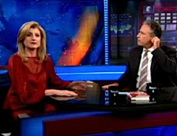 Arianna Huffington on The Daily Show