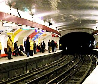 Paris metro by Clarita, via Morguefile.com