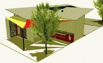 Vilaj Vilaj shipping container home plan