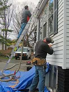 weatherizing in Massachusettes- govt photo