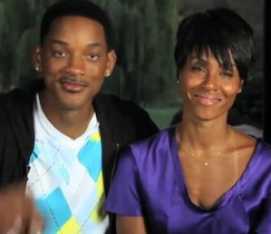 Will and Jada Smith for Charity: Water