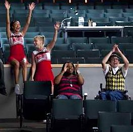 Glee scene via Fox TV