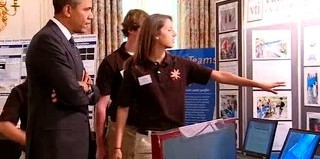 Pres. Obama holds first science fair in White House (WH photo)