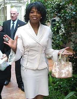 Oprah Winfrey at her 50th birthday, by Alan Light - CC license