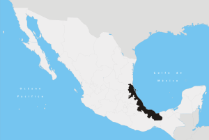 map of Veracruz, Mexico