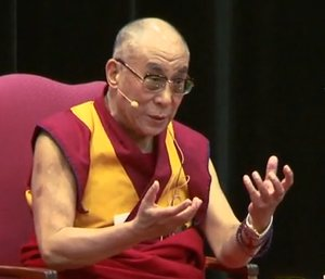 The Dalai Lama talks at Stanford- Jack Hubbard