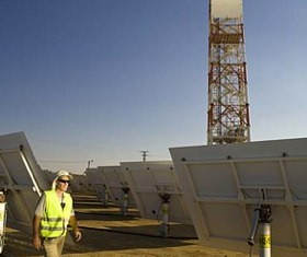 Brightsource energy solar tower