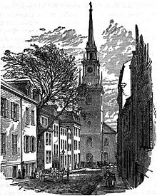 Old North Church as it looked in 1882