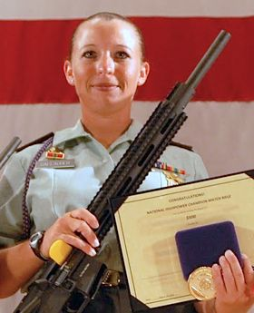 Soldier of the year, Sgt, Sherri Gallagher