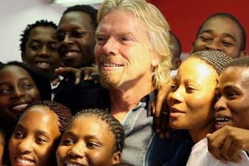 Richard-Branson charities photo