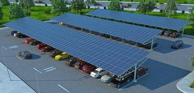 solar carport by ProtekPark, via CC license