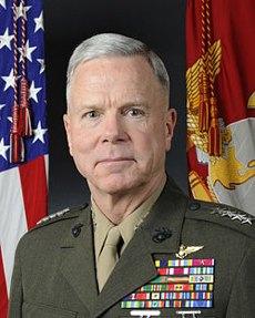 General James Amos, US Marine Corp