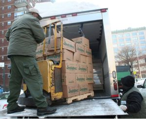 FreshDirect donates surpluss food during NYC blizzard