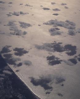 Lake Michigan in winter, photo by Geri