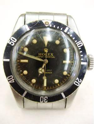 rolex submariner watch fetches $66,000