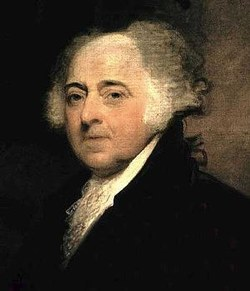John Adams portrait on wikipedia