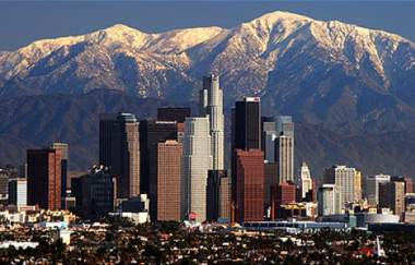 Los Angeles skyline by Nserrano -CC