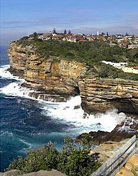 Sydney, Australia - The Gap cliffs
