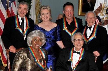 Arts award to Dinero, Springsteen, and others, Clinton administration