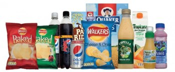 grocery products by Pepsi-co
