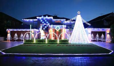 Perth lights display