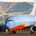 Southwest jet on tarmac