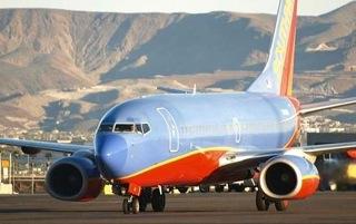 Southwest jet on tarmac