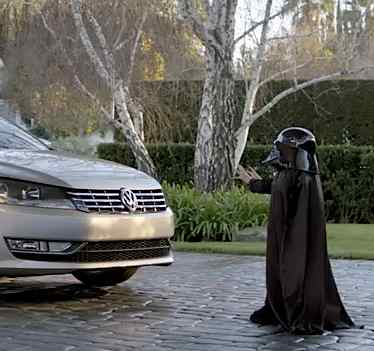 VW ad from the Super Bowl