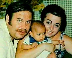 Swartz family with adopted baby from El Salvador