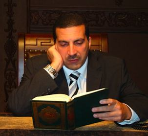 Amr Khaled photo from his Facebook page