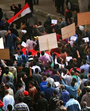 Egypt demonstrations - by M Soli CC license