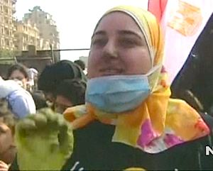 Egyptian volunteer via CNN video