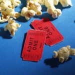 movie tickets and popcorn by mconnors via morgfile